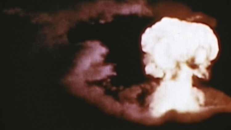 "July 1, 1946 was the ""Able"" bomb test at Bikini Atoll."
