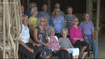 16 kids come together for reunion at family farm