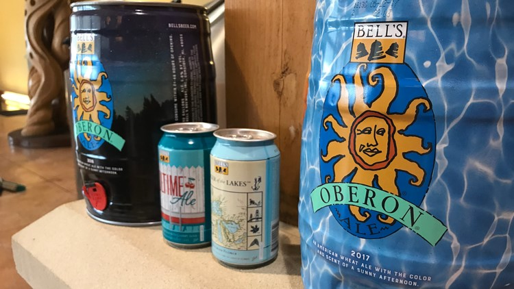 Monday is Oberon Day: A behind the scenes look at how the golden brew is made