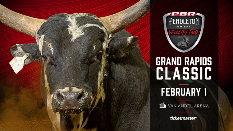 CONTEST COMPLETE - Enter to win four tickets to the Professional Bull Riders show at Van Andel Arena!