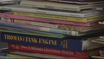 Coopersville Reading Bus getting donations from all over West Michigan