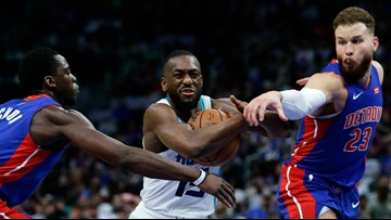 Hornets' victory puts Pistons' post-season hopes in dismay