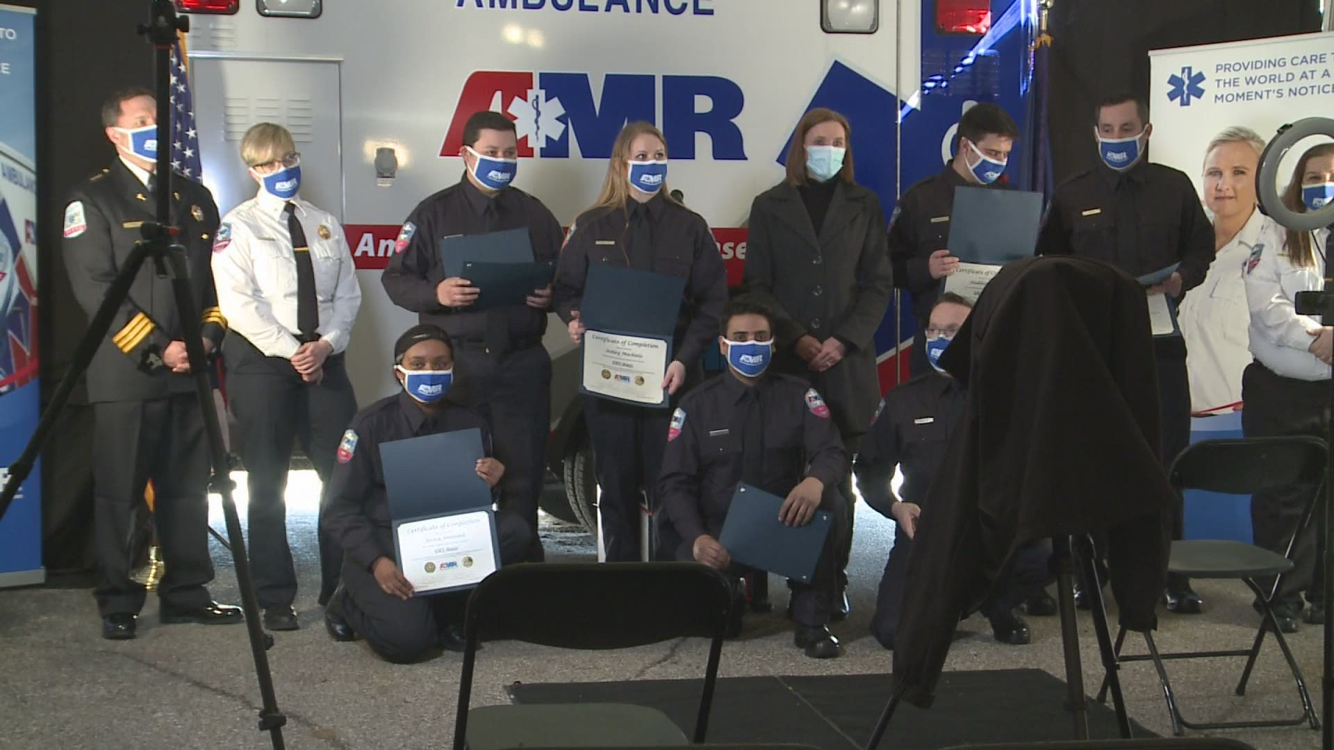 """AMR celebrates first """"earn while you learn"""" graduating class 