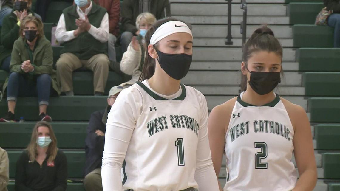Girl's High School Basketball: Hamilton vs.  West Catholic