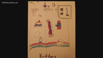One Good Thing: Kids say thank you with drawn pictures