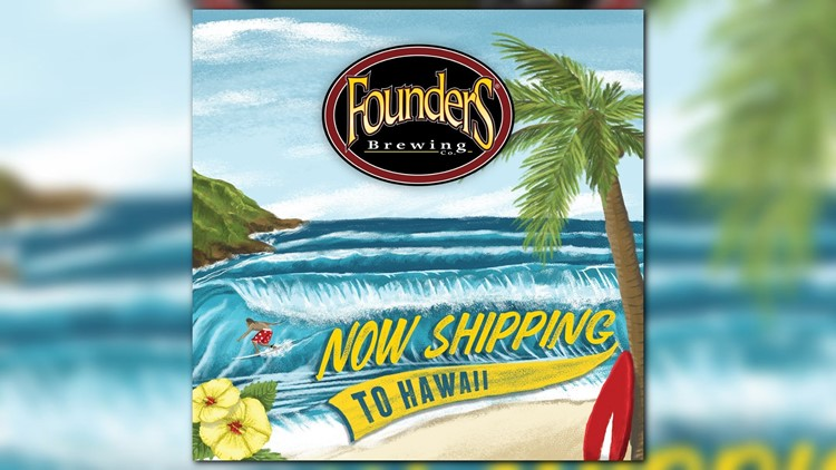 Founders Brewing to distribute to Hawaii