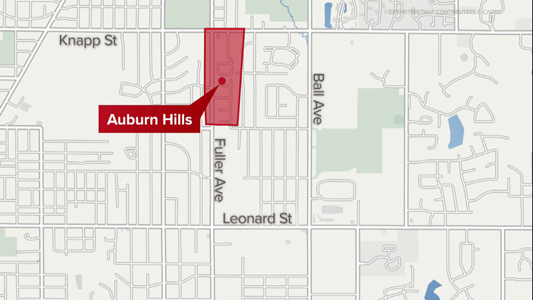 Auburn Hills Map