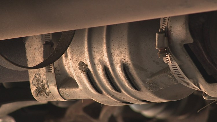With months to go, catalytic converter theft in Kent Co. is already 20 times higher than last year