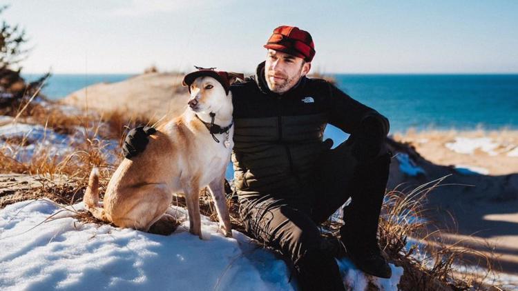 The Mitten Mutt explores Michigan with his best friend