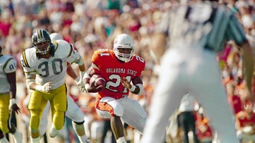 Barry Sanders named greatest college football player of all-time by USA Today