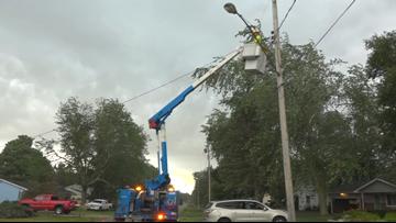 Consumers Energy making progress to restore power