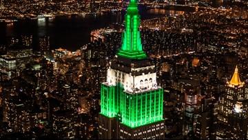 Empire State Building will showcase MSU's green and white on Saturday