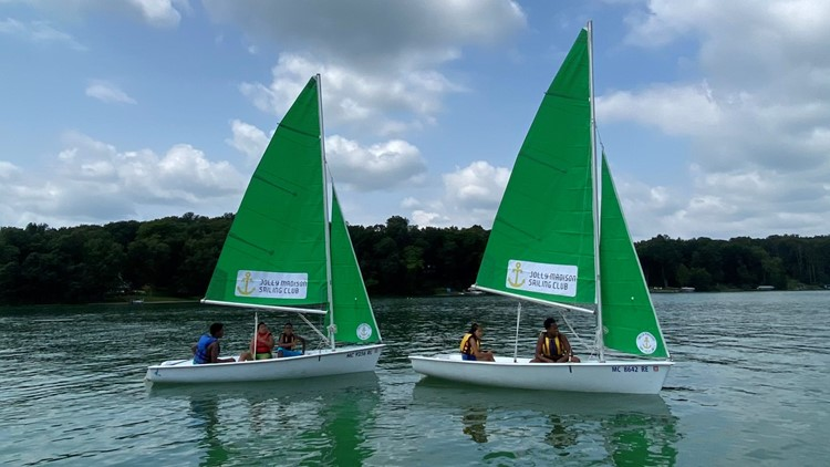 WIND IN THEIR SAILS: Inner-city kids get on the water thanks to unique program
