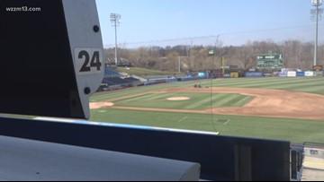 Beautiful day for baseball: Whitecaps make final preps for home opener