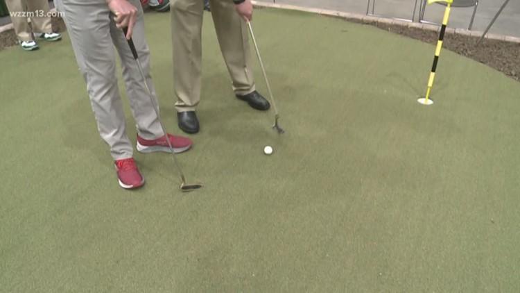 West Michigan Golf Show gets underway in Grand Rapids