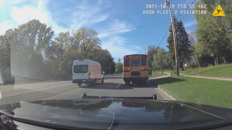 CAUGHT ON CAM: Drivers violating school bus safety laws cited during Operation Safe Stop