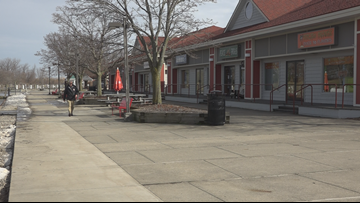 Grand Haven to demolish 2  Chinook Pier shopping center buildings over mold concerns
