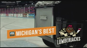 What's new with the Muskegon Lumberjacks!