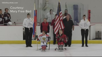 One Good Thing: Sled hockey tournament held in Grand Rapids