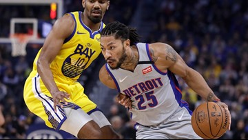 Pistons snap three-game losing streak, beat Warriors 111-104