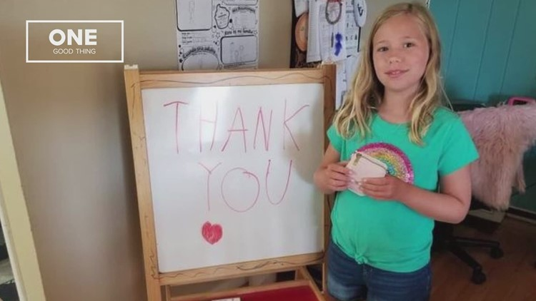 One Good Thing: Purse & money sent back to CA girl