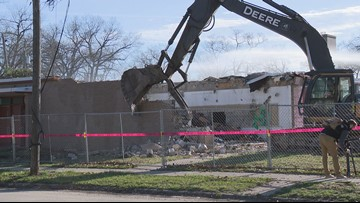 Former Muskegon Heights school being demolished for housing
