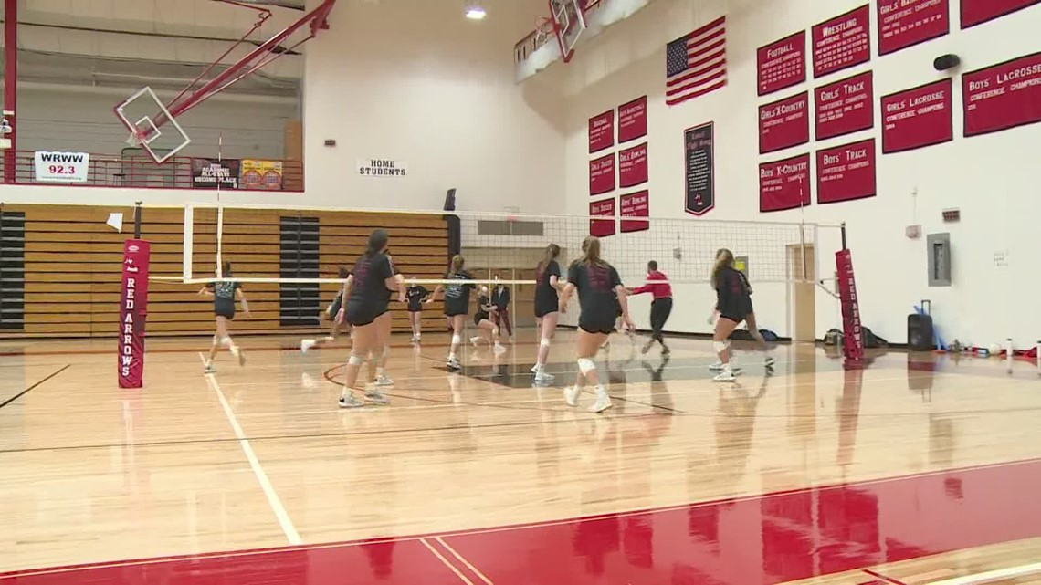 HS volleyball practices resume
