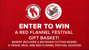 CONTEST COMPLETE - Enter to win a Red Flannel Festival gift basket!