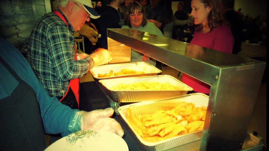 This is the fish fry voted the best in West Michigan...