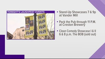 Laughfest 2019 kicks off with a hilarious line up