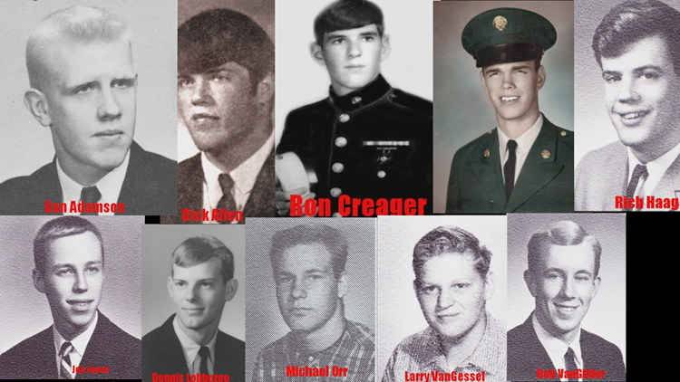 This GR Vietnam War veteran has at least 11 former classmates who were killed in war