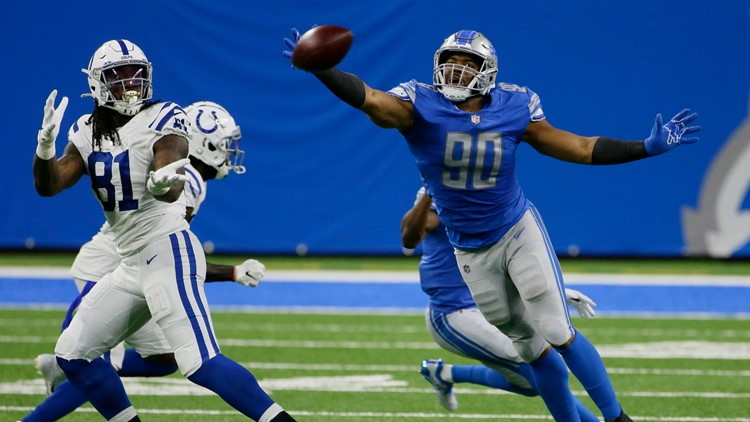Rivers' 3 TDs in 2nd quarter help Colts beat Lions 41-21