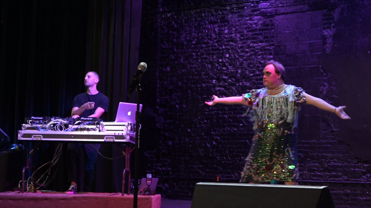 British Drag Syndrome group holds first show in America after venue change