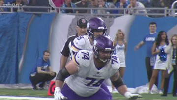 Lions lose to the Minnesota Vikings