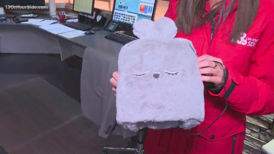 Beat the bitter cold with a heated mouse pad