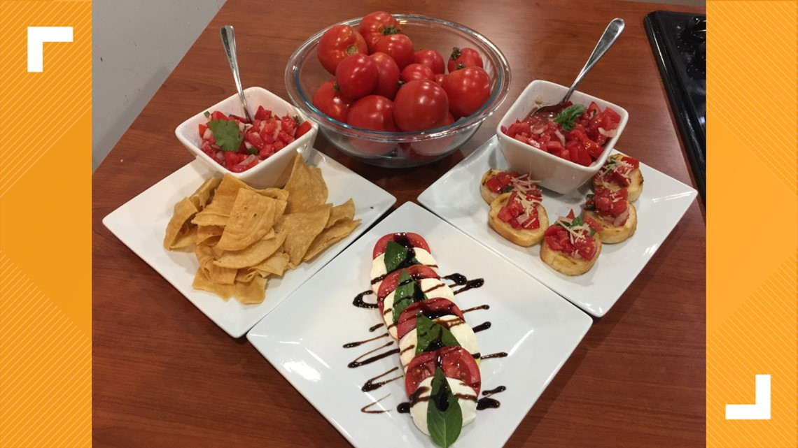 Try tomatoes 3 different ways with Chef Char