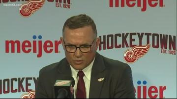 Steve Yzerman named GM of Detroit Red Wings
