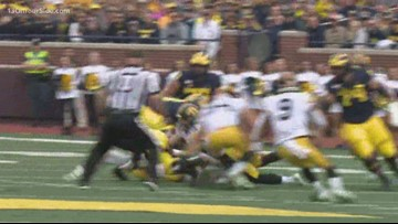 Michigan's offense continues to struggle