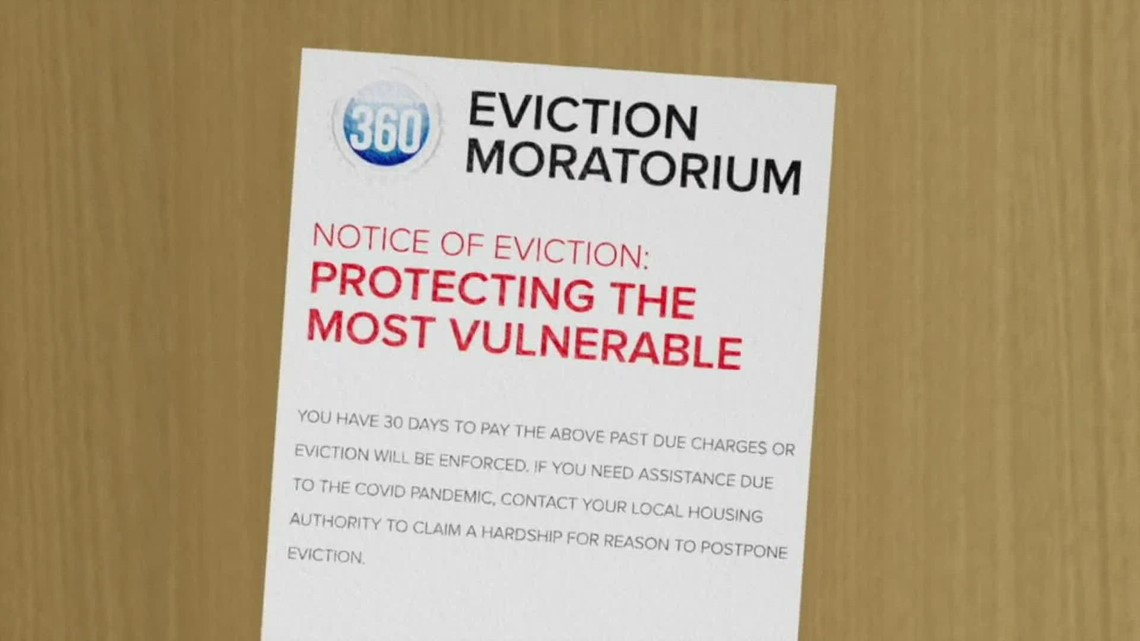 Eviction moratorium ends as COVID-19 cases rise