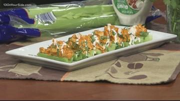 Recipes: Buffalo Chicken Dip Celery Sticks