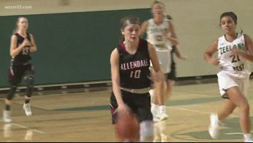 Allendale girls basketball is off to a perfect start