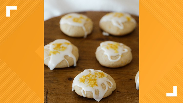 For the Love: Lemon Shortbread Cookies