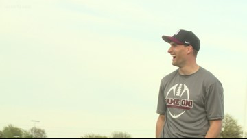 Kirk Cousins returns to Holland for annual alumni game
