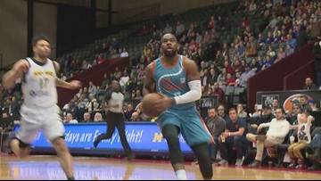 GR Drive's Marcus Thornton won't give up his NBA dream
