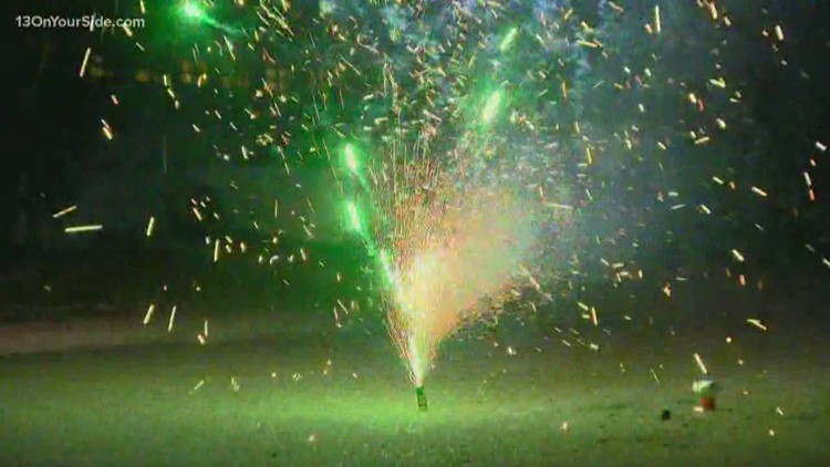 City of Grand Rapids reduces number of days fireworks can be set off