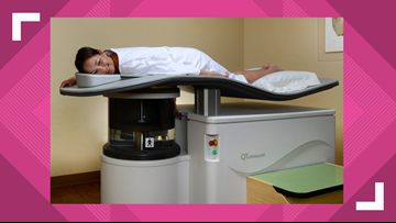 Breast scan that's radiation free