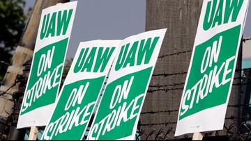 UAW workers vote to authorize strikes against Detroit's 3 automakers