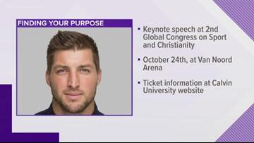 Tim Tebow to deliver keynote address at Calvin University