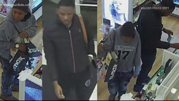 Walker Police searching for suspects who stole from 'several' Ulta Beauty stores