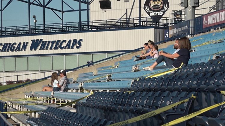Whitecaps host watch party for Detroit Tigers home opener